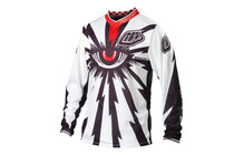 Troy Lee Designs GP Air Downhill Tricot Cyclops wit
